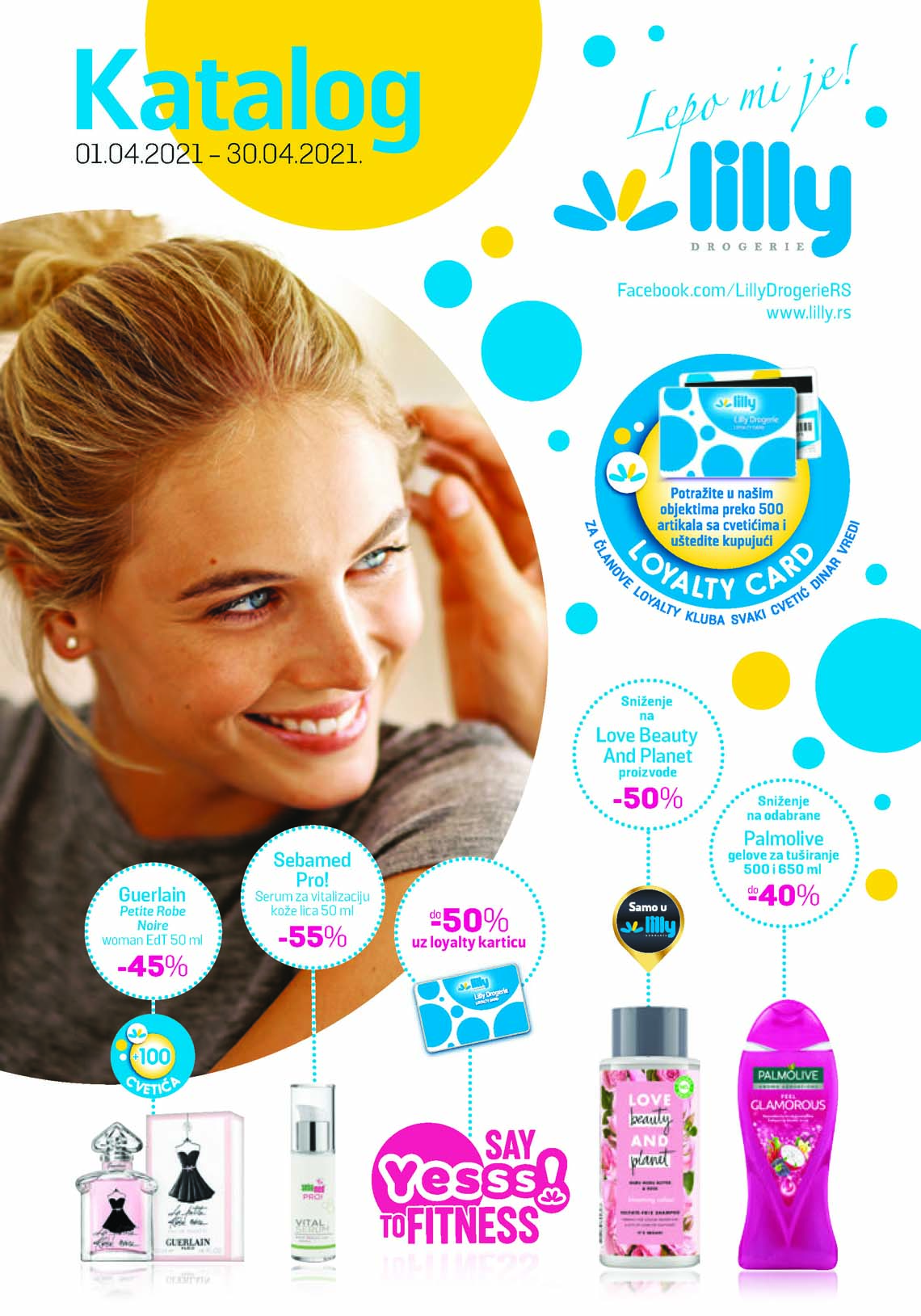 LILLY DROGERIE Katalog - Super akcija do 30.04.2021.