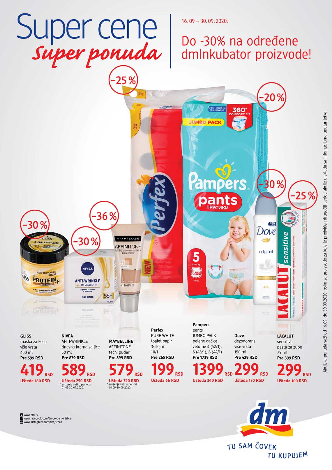 dm EXPRESS Katalog - Akcija do 30.09.2020.