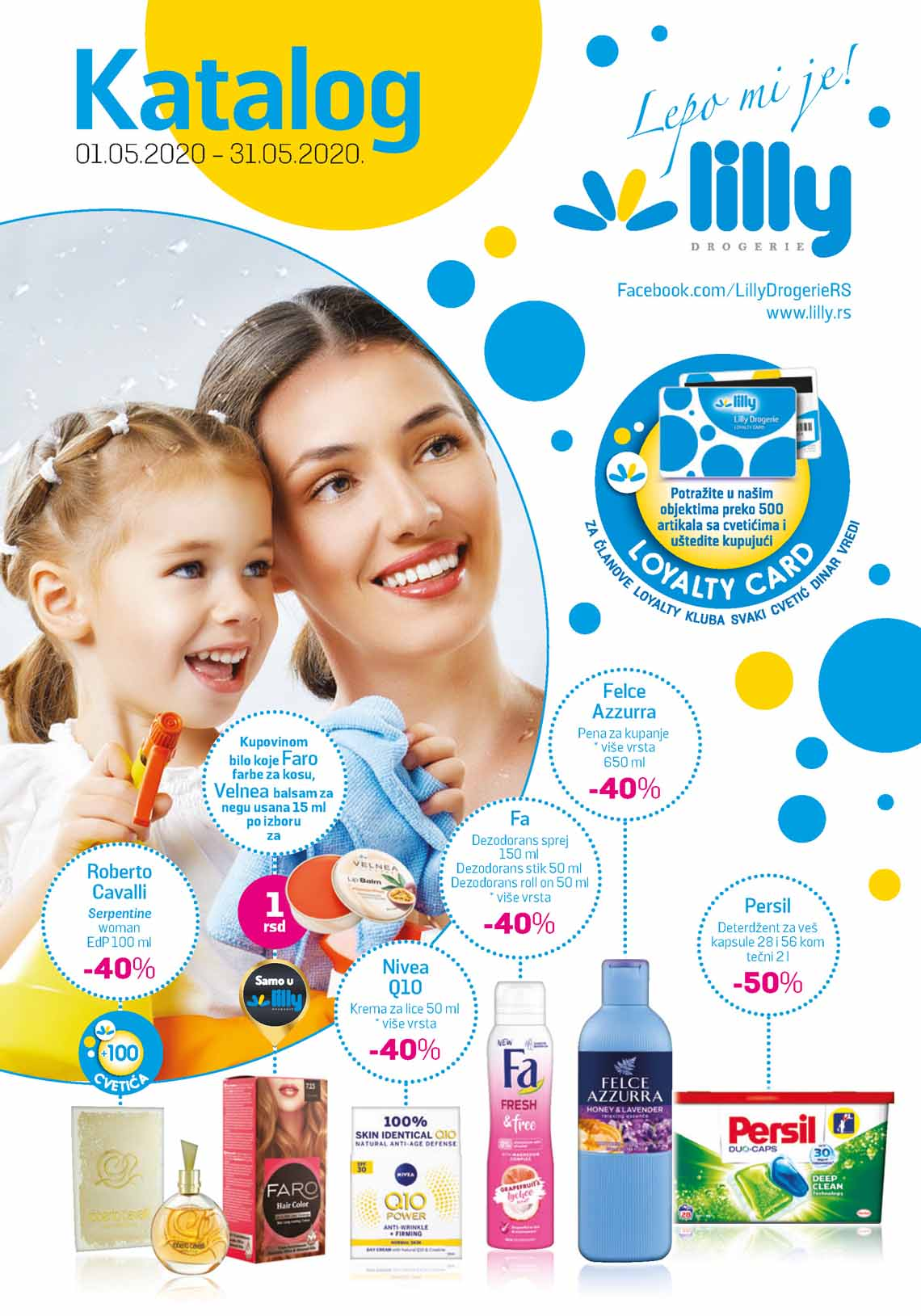 LILLY DROGERIE Katalog - Super akcija do 31.05.2020.