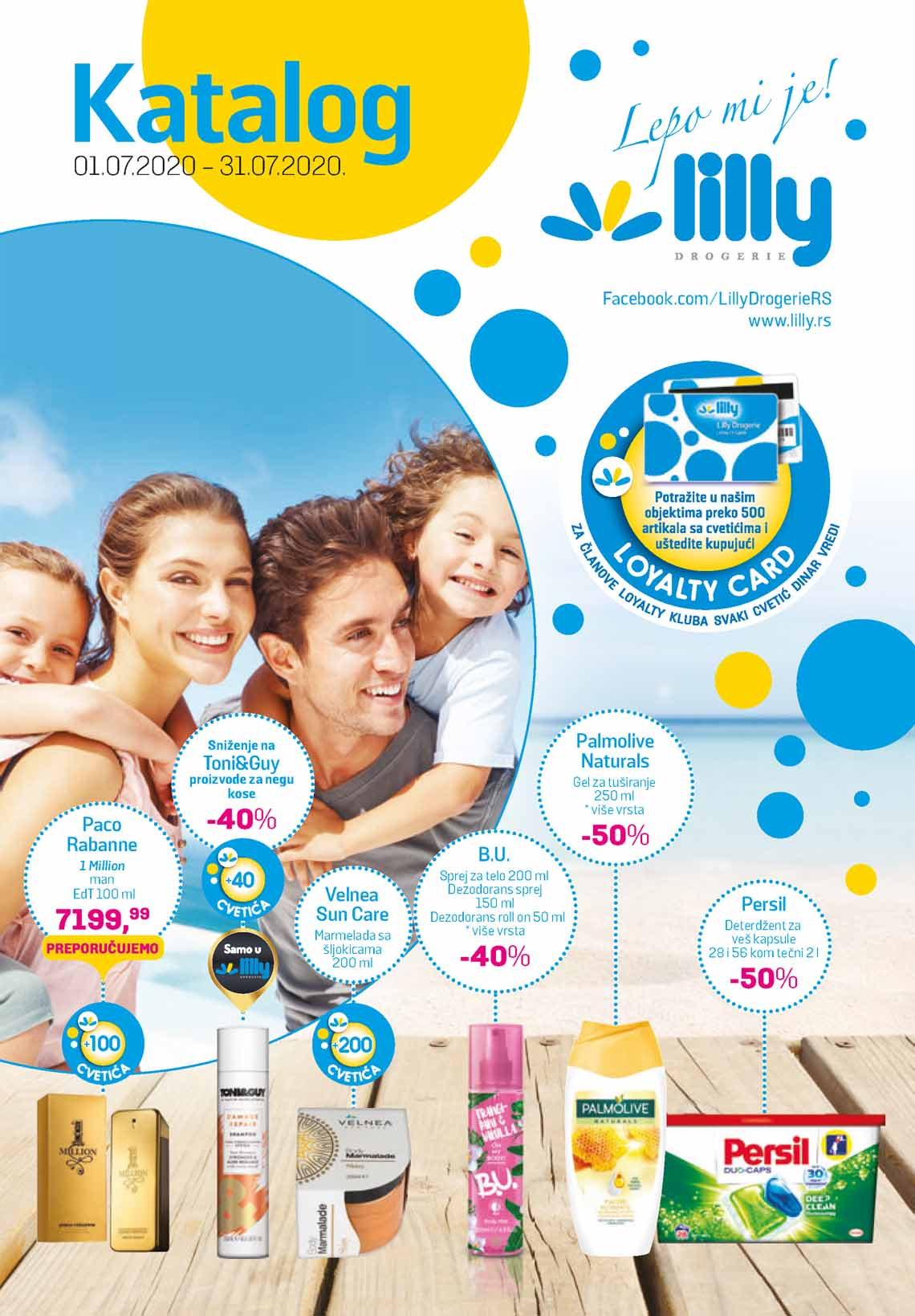 LILLY DROGERIE Katalog - Super akcija do 31.07.2020.