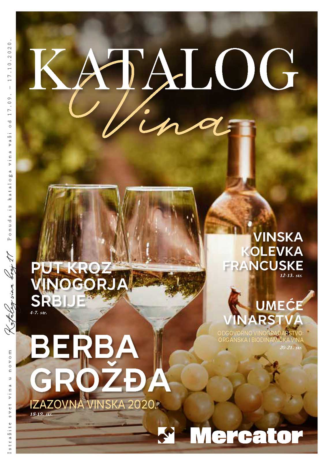 MERCATOR Katalog - KATALOG VINA - Super akcija do 17.10.2020.