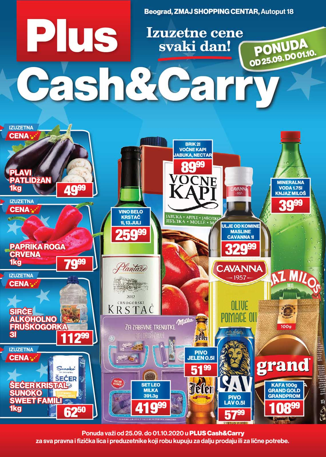 PLUS CASH CARRY AKCIJA KATALOG AKCIJA