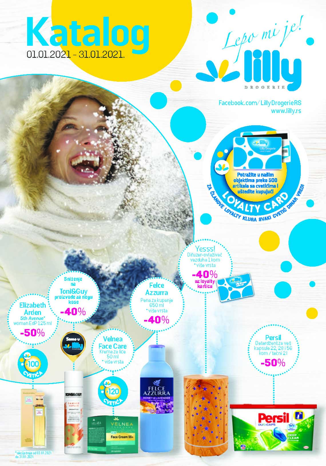 LILLY DROGERIE Katalog - Super akcija do 31.01.2021.