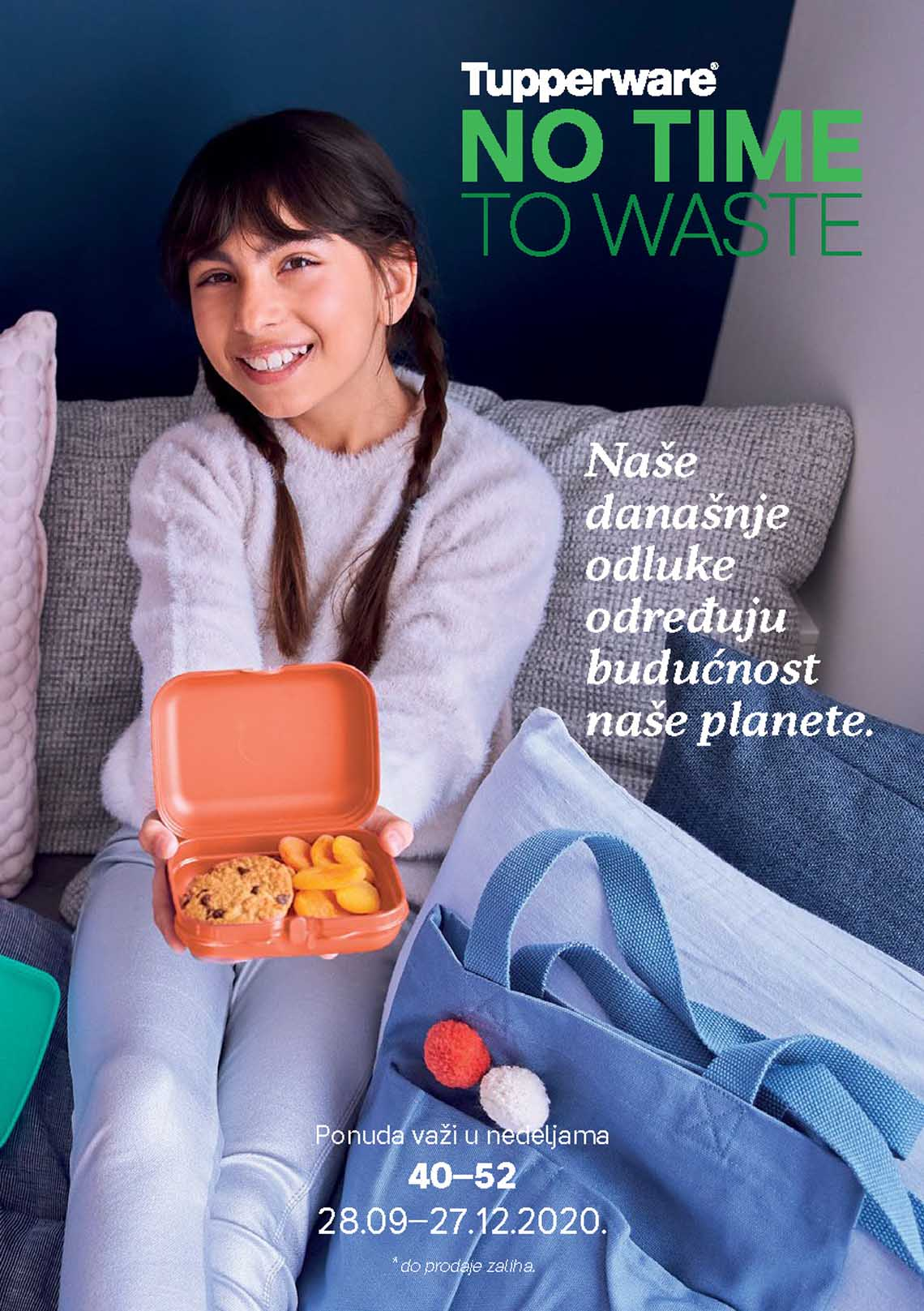 TUPPERWARE Katalog -  NO TIME TO WASTE - AKCIJA SNIŽENJA DO 27.12.2020.