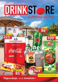 DRINK STORE Katalog - KUPOVINA NA EKS. Super akcija sniženja do 31.08.2020.