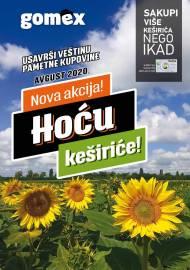 GOMEX Akcija - HOĆU KEŠIRiĆE - Akcija do 31.08.2020.
