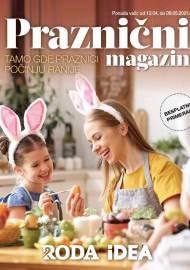 IDEA - RODA PRAZNIČNI MAGAZIN - TAMO GDE PRAZNICI POČINJU RANIJE - Super akcija SNIŽENJA do 09.05.2021.