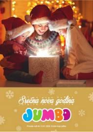 JUMBO - SREĆNA  NOVA GODINA - IZDVAJAMO ZA VAS - Akcija do 13.01.2020.