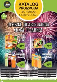 LEON MARKET Katalog - Super akcija do 21.01.2021.