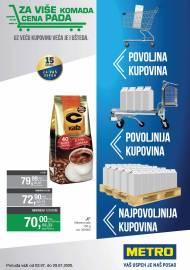 METRO KATALOG - POVOLJNA KUPOVINA - VAŠ USPJEH JE NAŠ POSAO - Akcija do 29.07.2020.