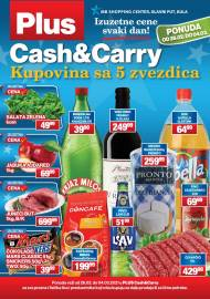 PLUS CASH CARRY AKCIJA - IZUZETNE CENE SVAKI DAN - Akcija do 04.03.2021.