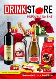 DRINK STORE Katalog - KUPOVINA NA EKS. Super akcija do 31.03.2021.