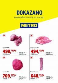 METRO - DOKAZANO - Akcija do 30.10.2021.