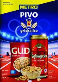 METRO KATALOG - PIVO I GRICKALICE - Akcija do 28.07.2021.