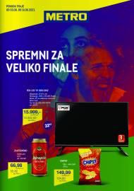 METRO KATALOG - SPREMNI ZA VELIKO FINALE - Akcija do 16.06.2021.