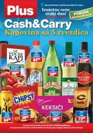 PLUS CASH CARRY AKCIJA KULA - IZUZETNE CENE SVAKI DAN - Akcija do 30.09.2021.