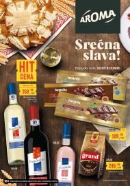 AROMA KATALOG! - SREĆNA SLAVA! - Akcija sniženja do 08.11.2021.