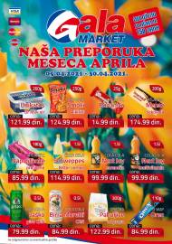 GALA MARKET Katalog - Super akcija do 30.03.2021.