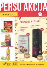 PERSU Katalog - ŠTA JE NA AKCIJI! Akcija sniženja do 28.11.2020.