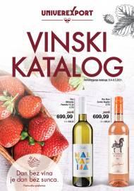 UNIVEREXPORT KATALOG - VINSKI KATALOG - Akcija sniženja do 08.05.2021.