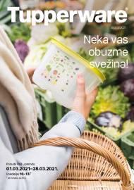 TUPPERWARE Katalog -  NEKA VAS OBUZME SVEŽINA - AKCIJA SNIŽENJA DO 28.03.2021.