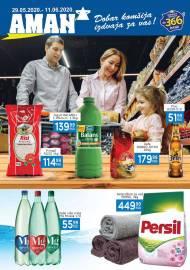 AMAN MARKETI KATALOG - Akcija sniženja do 11.06.2020.