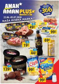 AMAN - AMAN PLUS MARKETI KATALOG - Akcija sniženja do 05.07.2020.
