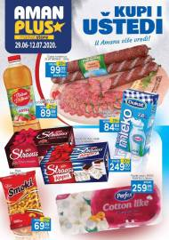 AMAN PLUS MARKETI KATALOG - Akcija sniženja do 12.07.2020.