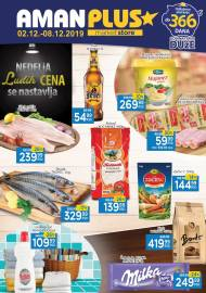 AMAN PLUS MARKETI KATALOG - NISKE CENE - Akcija do 08.12.2019.