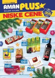 AMAN PLUS MARKETI KATALOG - NISKE CENE - Akcija do 22.12.2019.
