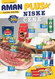 AMAN PLUS MARKETI KATALOG - SUPER CENE - Akcija do 26.01.2020.