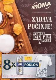 AROMA PIVSKI KATALOG! - Akcija sniženja do 20.08.2020.