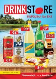 DRINK STORE Katalog - KUPOVINA NA EKS. Super akcija sniženja do 31.07.2020.