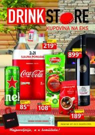 DRINK STORE Katalog - KUPOVINA NA EKS. Super akcija do 31.12.2020.