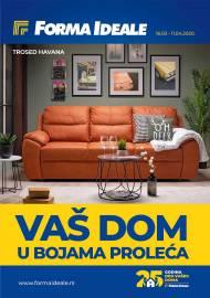 FORMA IDEALE KATALOG - VAŠ DOM U BOJAMA PROLEĆA - Akcija do 11.04.2020.
