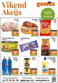 GOMEX VIKEND AKCIJA - Akcija sniženja za 29.03.2020.