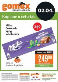 GOMEX VIKEND - KUPI ME U ČETVRTAK - Akcija za 02.04.2020.