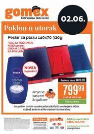GOMEX AKCIJA - KUPI ME U UTORAK - Akcija za 02.06.2020.