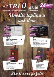 TRI 0 Katalog - UNESITE TOPLINU U VAŠ DOM! Akcija do 30.11.2019.