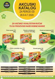 LEON MARKET Katalog - Super akcija do 09.07.2020.