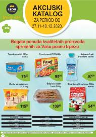 LEON MARKET Katalog - Super akcija do 10.12.2020.