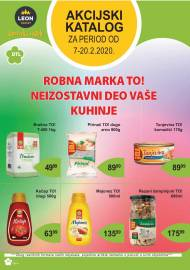LEON MARKET Katalog - Super akcija do 20.02.2020.