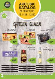 LEON MARKET Katalog - Super akcija do 26.11.2020.