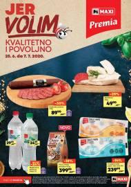 MAXI - JER VOLIM KVALITETNO I POVOLJNO - PREMIA. Super akcija sniženja do 07.07.2020.