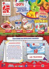 MEDIUS Katalog - 25 godina dobre kupovine. Akcija do 27.10.2019.