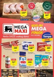 MEGA MAXI - NEDELJNA MEGA PONUDA. Super akcija sniženja do 30.09.2020.