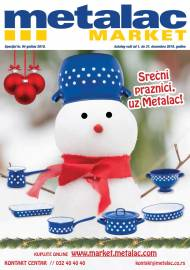 METALAC MARKET KATALOG -  Super akcija sniženja do 31.12.2019.