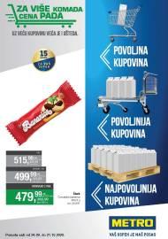 METRO KATALOG - POVOLJNA KUPOVINA - VAŠ USPJEH JE NAŠ POSAO - Akcija do 21.10.2020.