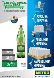 METRO KATALOG - POVOLJNA KUPOVINA - VAŠ USPJEH JE NAŠ POSAO - Akcija do 18.11.2020.