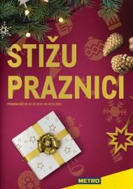 METRO KATALOG - STIŽU PRAZNICI - Akcija do 02.01.2021.